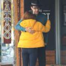Isla Fisher – Leaving a restaurant in Studio City