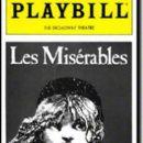 Les Misérables - Playbill Magazine Cover [United States] (March 1987)