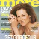 Sigourney Weaver - More Magazine Cover [United States] (April 2001)