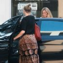 Cameron Diaz in Long Skirt at Bellacures Nails in Beverly Hills