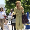 Rachel Zoe enjoyed a day out with her growing son Skyler Berman on June 29, 2012
