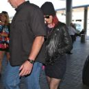 Katy Perry At Lax Airport