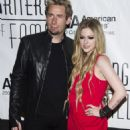 Avril and Chad at the 44th Annual Songwriters Hall of Fame Awards Gala 13/06/2013