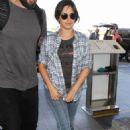 Camila Cabello at LAX International Airport in LA
