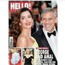Amal Alamuddin, George Clooney - Hello! Magazine Cover [United Arab Emirates] (19 May 2016)