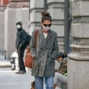 Katie Holmes – Looks casual while out in New York