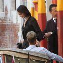 Bruna Marquezine in Black Mini Dress – Out in Venice - 454 x 636