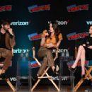 Elizabeth Reaser – Netflix & Chills Panel at 2018 New York Comic Con - 454 x 316