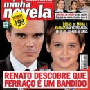 Dalton Vigh, Gabriel Sequeira, Two Faces - Minha Novela Magazine Cover [Brazil] (2 May 2008)