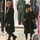 Ashlee Simpson and husband Evan Ross out shopping at OnePiece in West Hollywood, California on January 8, 2015 - 454 x 523