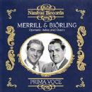 Robert Merrill - Jussi Björling & Robert Merrill Perform Operatic Arias and Duets