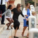 Angelina Jolie and Brad Pitt in Malta (Sept. 19, 2014)
