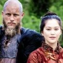Travis Fimmel and Dianne Doan