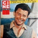 Gérard Philipe - Cine Tele Revue Magazine Pictorial [France] (26 June 1959) - 454 x 607