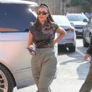 Kim Kardashian – Arrives at Emilio's Trattoria for lunch in Encino