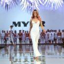 Jennifer Hawkins- MYER Spring-Summer 2014 Collection Fashion Show