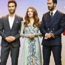Elçin Sangu and Baris Arduç : Golden Butterfly Awards 2016 - 454 x 555