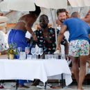 Gabrielle Union in Green Bikini at a beach in Ibiza - 454 x 364
