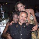 Carla Bruni, Naomi Campbell & Gianni Versace - 1992