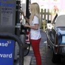 Mischa Barton - Pumping Gas, West Hollywood, CA, July 6, 2010