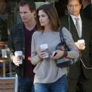 Cindy Crawford And Rande Gerber Go For Coffee