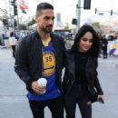 Becky G at the NBA All-Star Game at Staples Center in Los Angeles