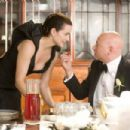 "Kristin Davis (left) stars as ""Charlotte"" and Evan Handler (right) stars as ""Harry Goldenblatt"" in New Line Cinema's upcoming release of SEX AND THE CITY. Photo Credit: Craig Blankenhorn/New Line Cinema - 454 x 303"