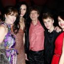 Mick Jagger and L'Wren Scott arrive at the Vanity Fair Oscar party hosted by Graydon Carter held at Sunset Tower on February 27, 2011 in West Hollywood, California - 454 x 320