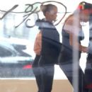 Kate Mara on ballet class in Beverly Hills