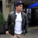 Mark Wahlberg is spotted out for lunch at the Palm Restaurant in Beverly Hills, California on January 6, 2016 - 454 x 571