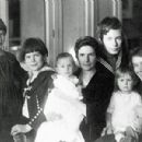 Thomas Mann and Katia Pringsheim and the Children