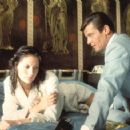 Maud Adams and Roger Moore - 454 x 357