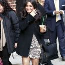 Vanessa Hudgens: Lovely at the Late Show