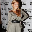 Adrienne Bailon - Sean Garrett's The Inkwell MixTape Launch Party In NYC August 24, 2010