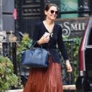 Katie Holmes – Seen at The Smile in New York City
