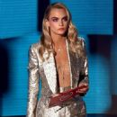 Cara Delevingne – 2020 American Music Awards in Los Angeles
