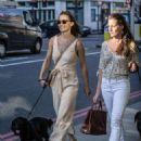Pippa Middleton – Walking her dog in London - 454 x 588