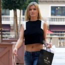 Joanna Krupa In Tight Jeans Shopping In Beverly Hills