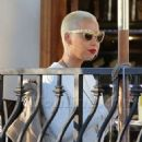 Amber Rose and Kat Von D have lunch at Urth Caffe in West Hollywood, California - February 10, 2014 - 454 x 702