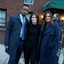Mariska Hargitay – See with a fans after 'Law and Order: Special Victims Unit' set in Brooklyn