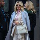 Ashley Roberts – Seen leaving Heart Radio in London