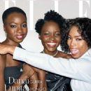Danai Gurira, Lupita Nyong'o and Angela Bassett – Elle US The 'Women In Hollywood' (November 2018) - 454 x 573