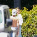 Hailey and Justin Bieber – Playing basketball together in Beverly Hills