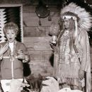 """Paul Fix, an actor of German heritage and veteran of countless westerns, is shown here in a 1969 episode of Here's Lucy called """"Lucy and the Indian Chief"""