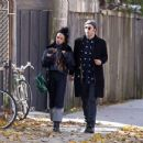 Robert Pattinson Romantic Lunch Date with Girlfriend FKA Twig (November 02, 2014)