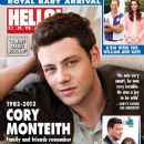 Cory Monteith - Hello! Magazine Cover [Canada] (29 July 2013)