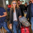 Ludivine Sagnier – Arriving at Nice Airport - 454 x 681