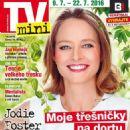 Jodie Foster - TV Mini Magazine Cover [Czech Republic] (9 July 2016)