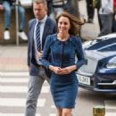 Kate Middleton at Kings College Hospital in south London - 454 x 683