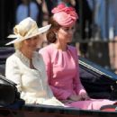 Kate Middleton at 2017 Annual Trooping The Colour Parade in London - 454 x 336